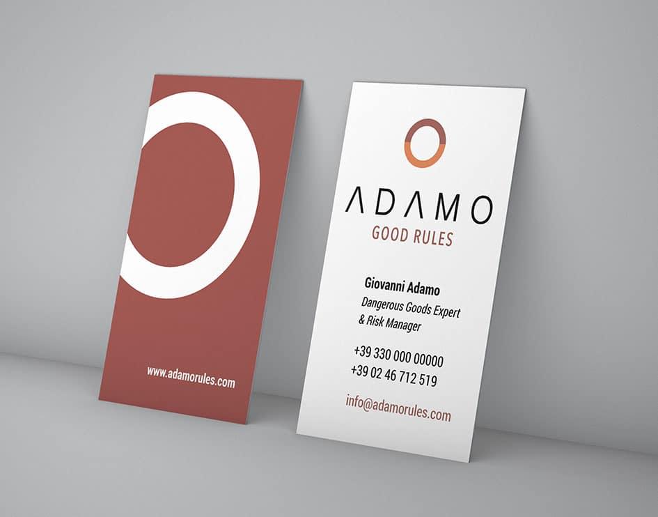 Immagine coordinata Adamo Good Rules